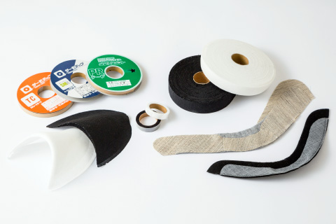 Clothing materials / Garment accessories